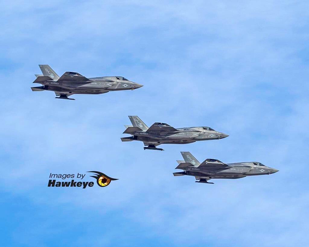 F-35B Trio