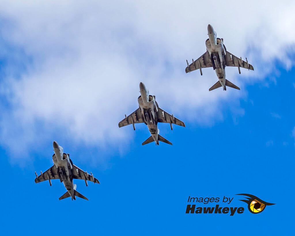 Triple Harriers