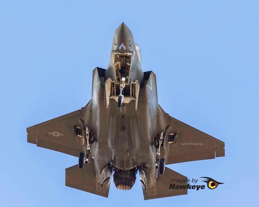 F-35B Belly View